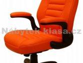 50+ Svátecní šaty Fotografie z Kancelářská Židle Oranžová