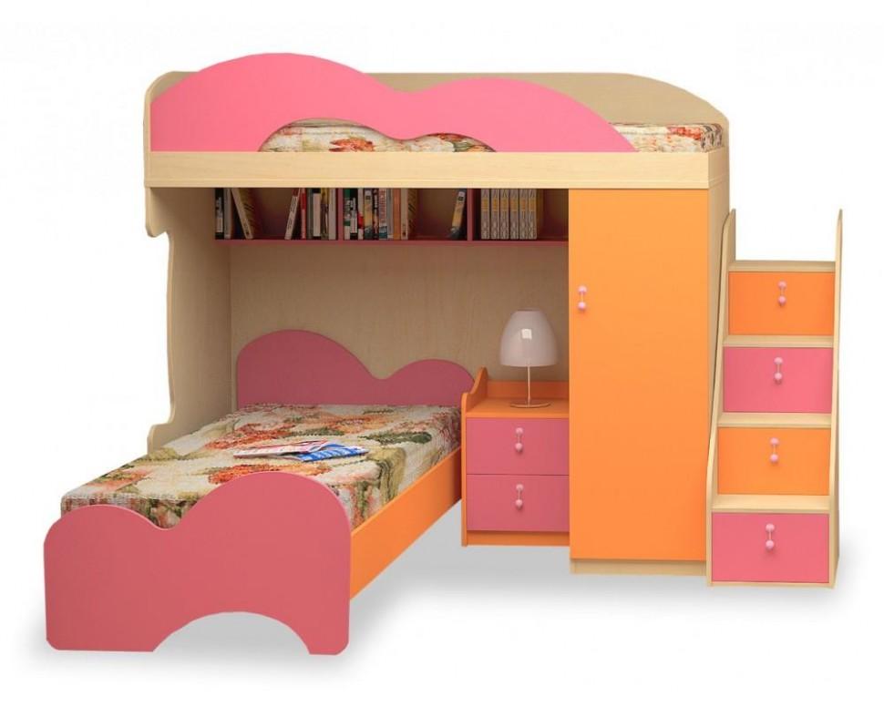 Dětská patrová postel elko MIA-13 LENZA   Biano