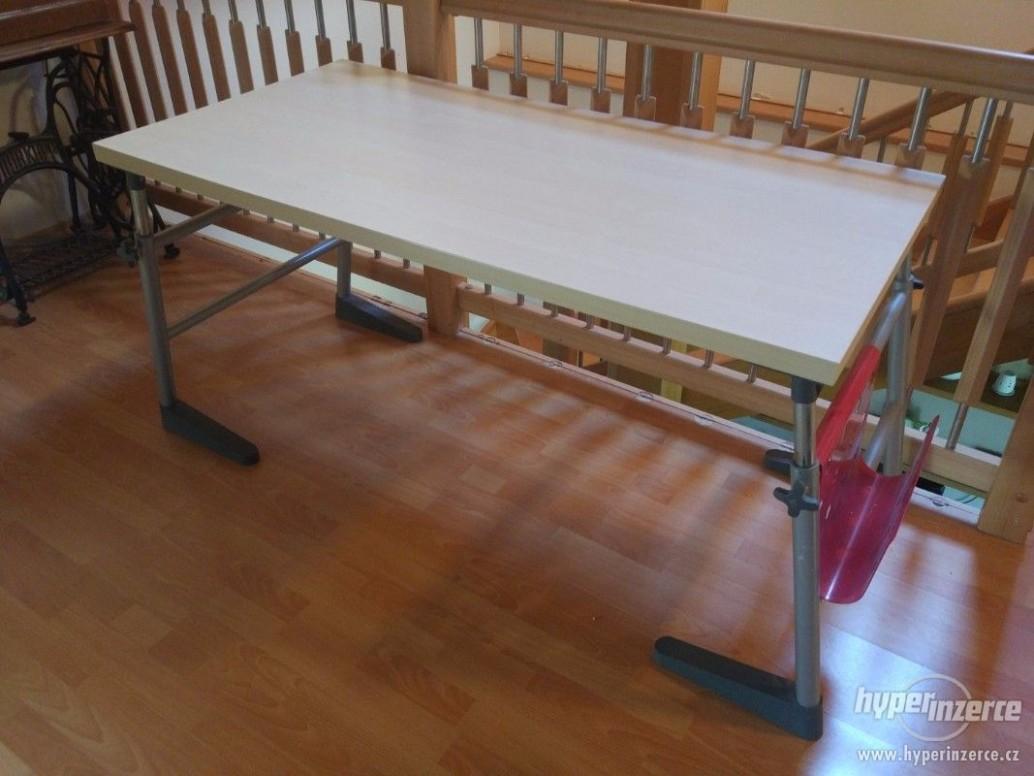Psací stůl 47x47 stavitelná výška - inzerce, prodám