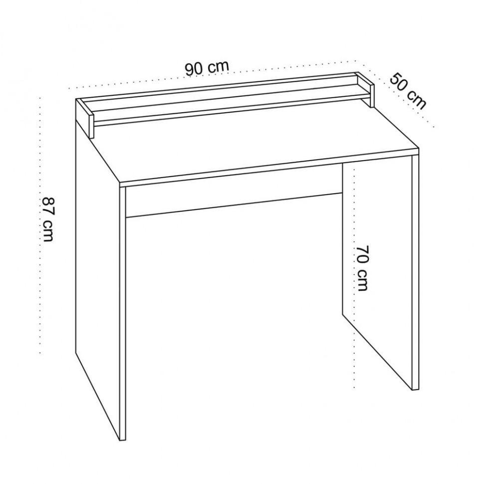 Pracovní stůl Vandel, výška 47 cm   Bonami