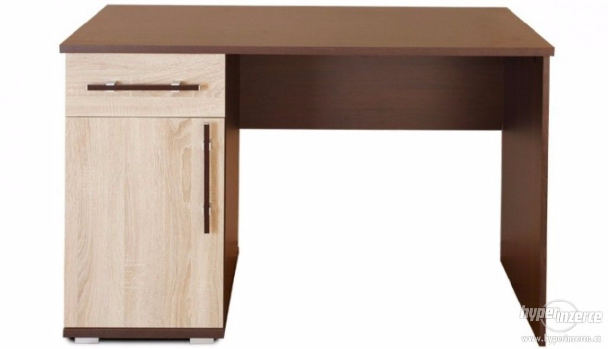 Velký psací stůl 31x31 cm s úložným prostorem - inzerce, prodám