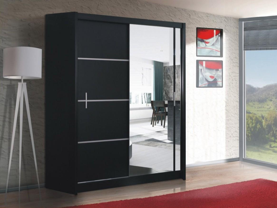 VISTA 67 skříň s posuvnými dveřmi a zrcadlem - Nabytek Prosna
