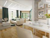 Návrhy bytů a domů | Design interiérů | Mujdum Design Obývák