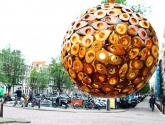 Venkovní osvětlení do pergoly s tato ručně vyráběná dřevěná lampa