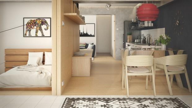 Nejvíce z Malý byt interiér