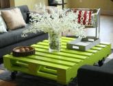 Barevný stolek do obývacího pokoje
