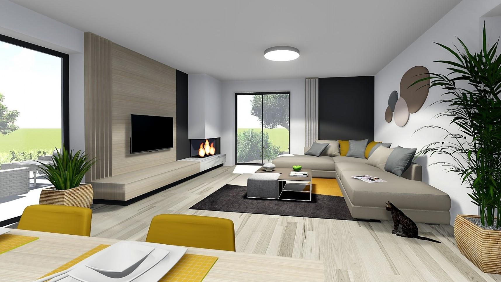 Návrh interiéru rodinného domu v Šenkviciach | AR design