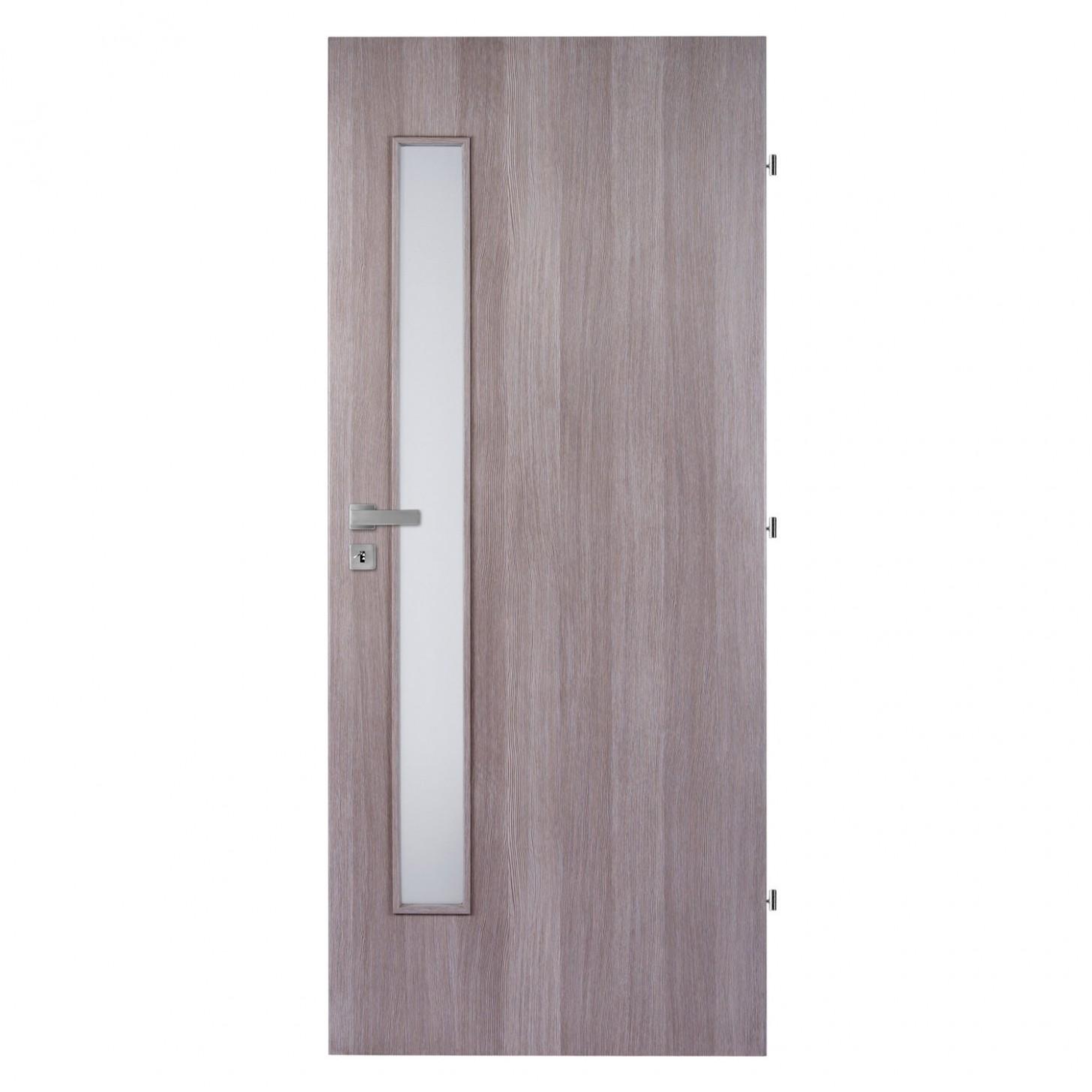 Masonite Interiérové dveře 7 L prosklené dub riflovaný