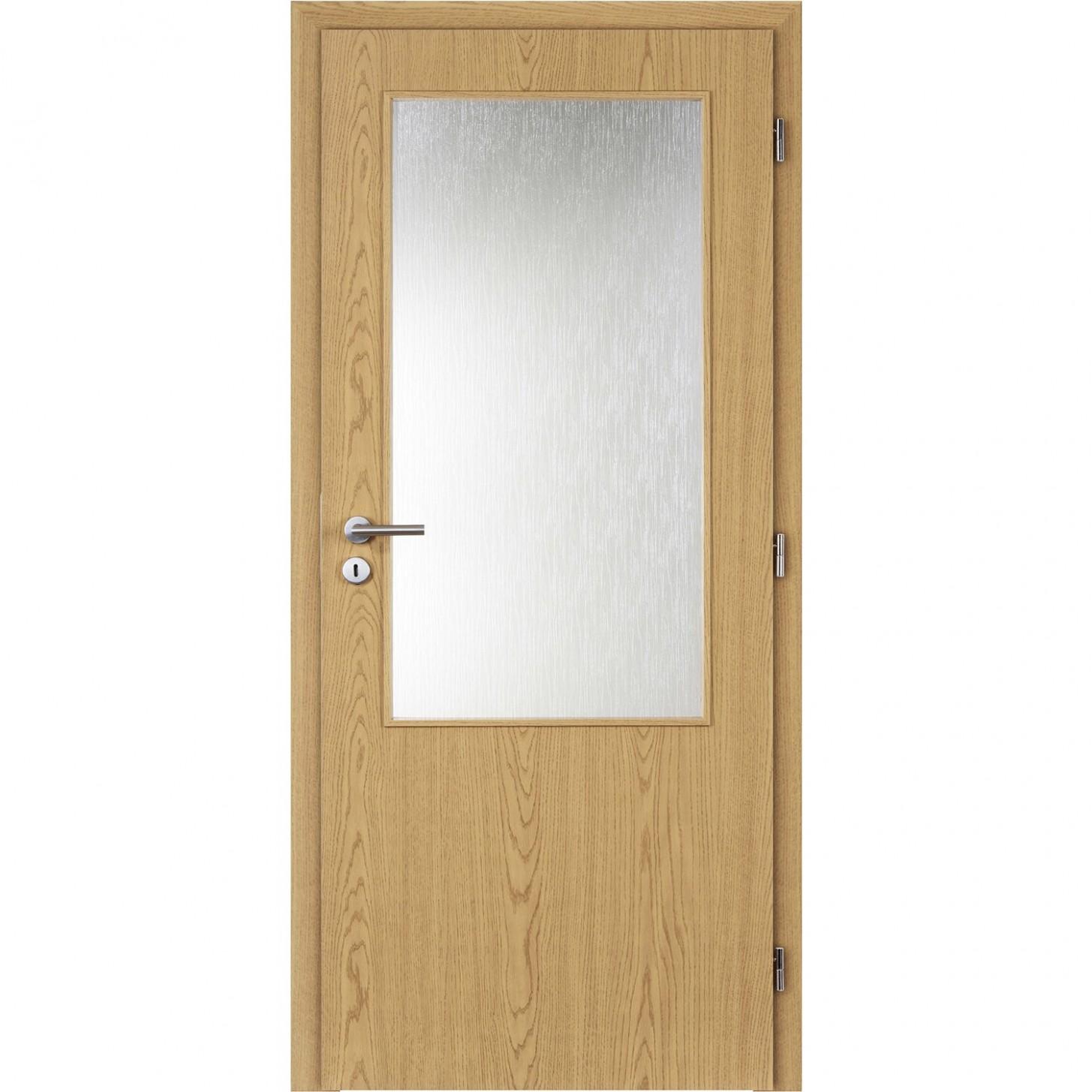 Masonite Interiérové dveře 7 L 7 / 7 sklo fóliované dub
