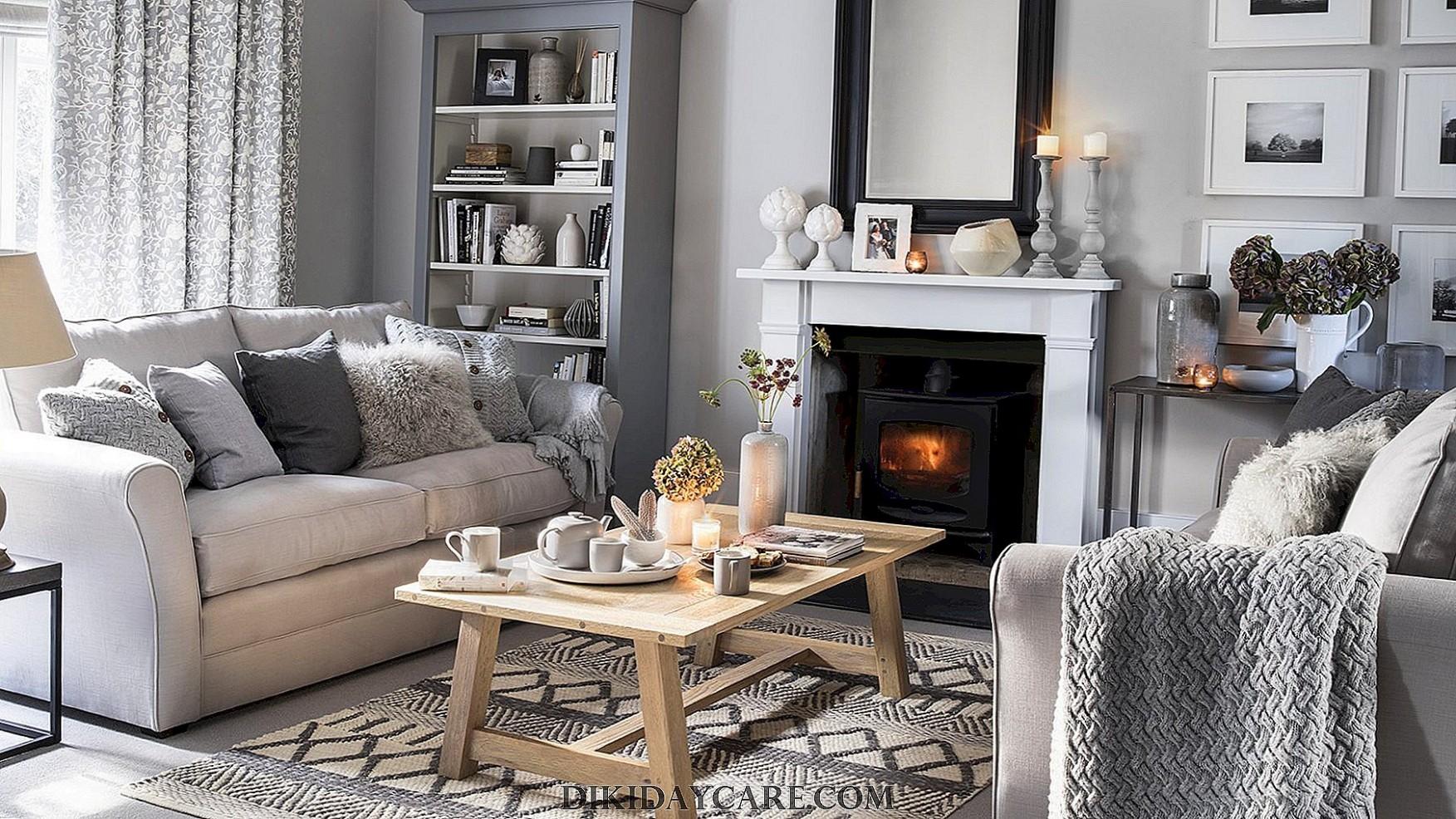 Útulný interiér bytu a domu +28 fotografií nápadov na ...
