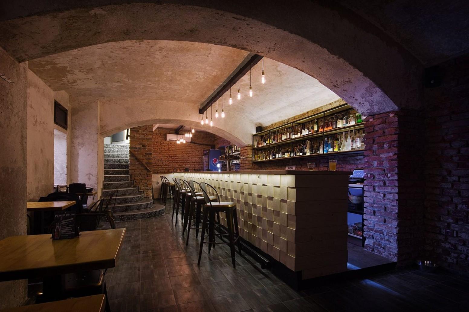 Interiér baru Stromoffka | Archicakes