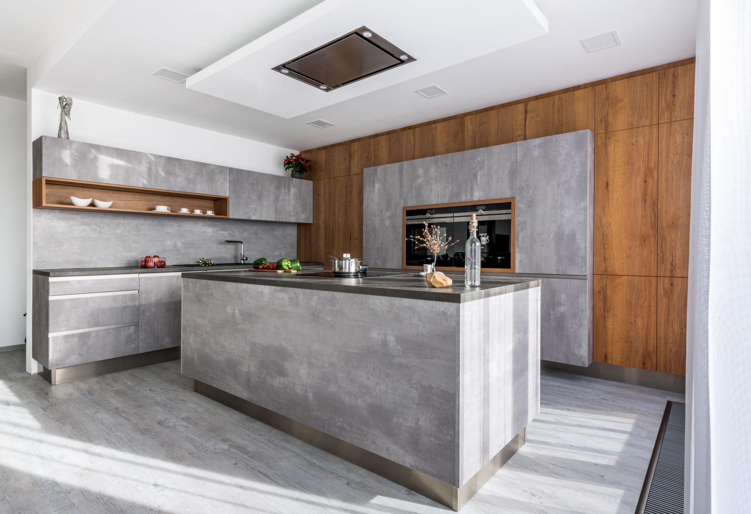Užití betonu v interiéru se stalo designovou záležitostí ...