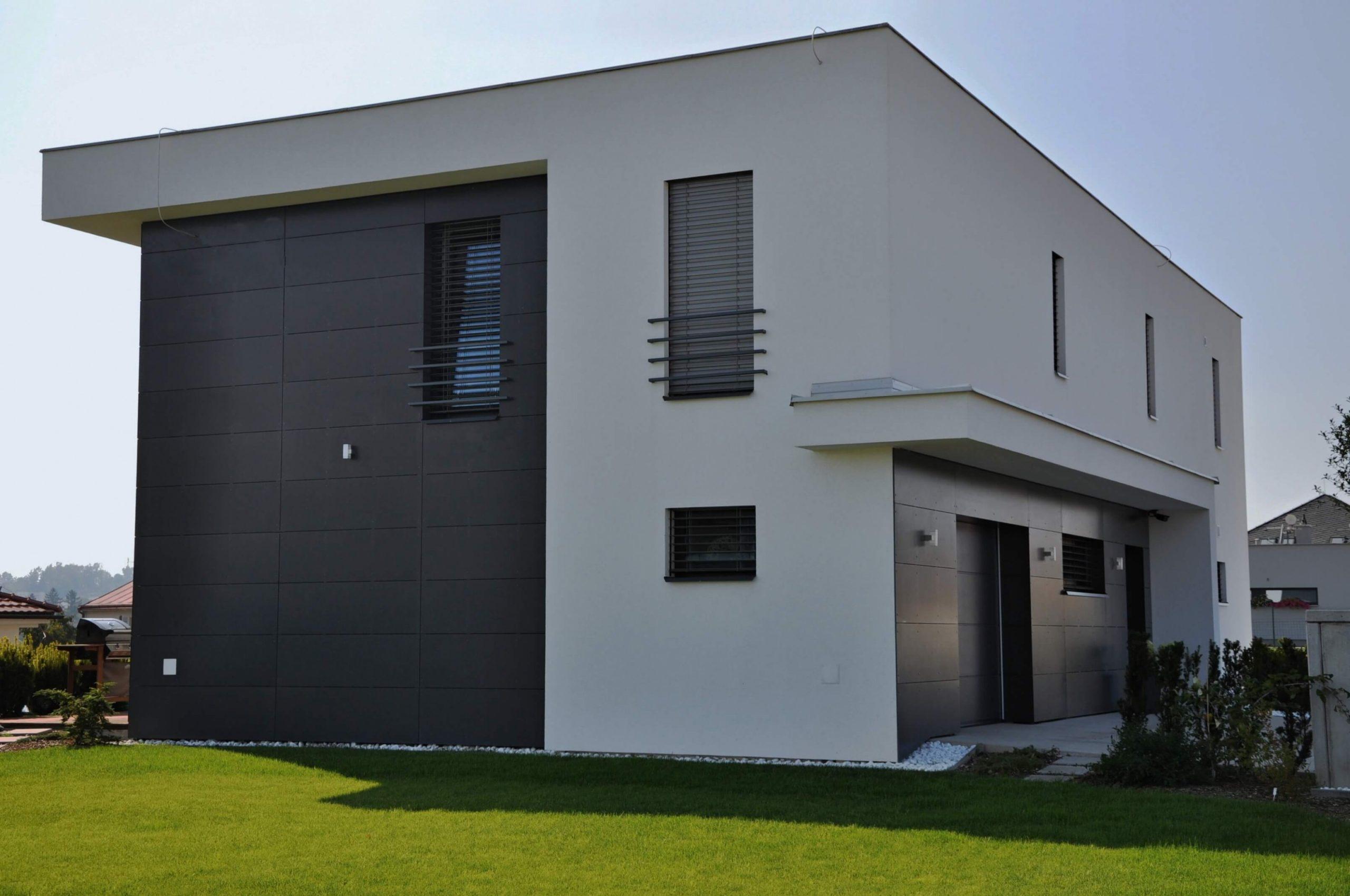 Barva fasády domu