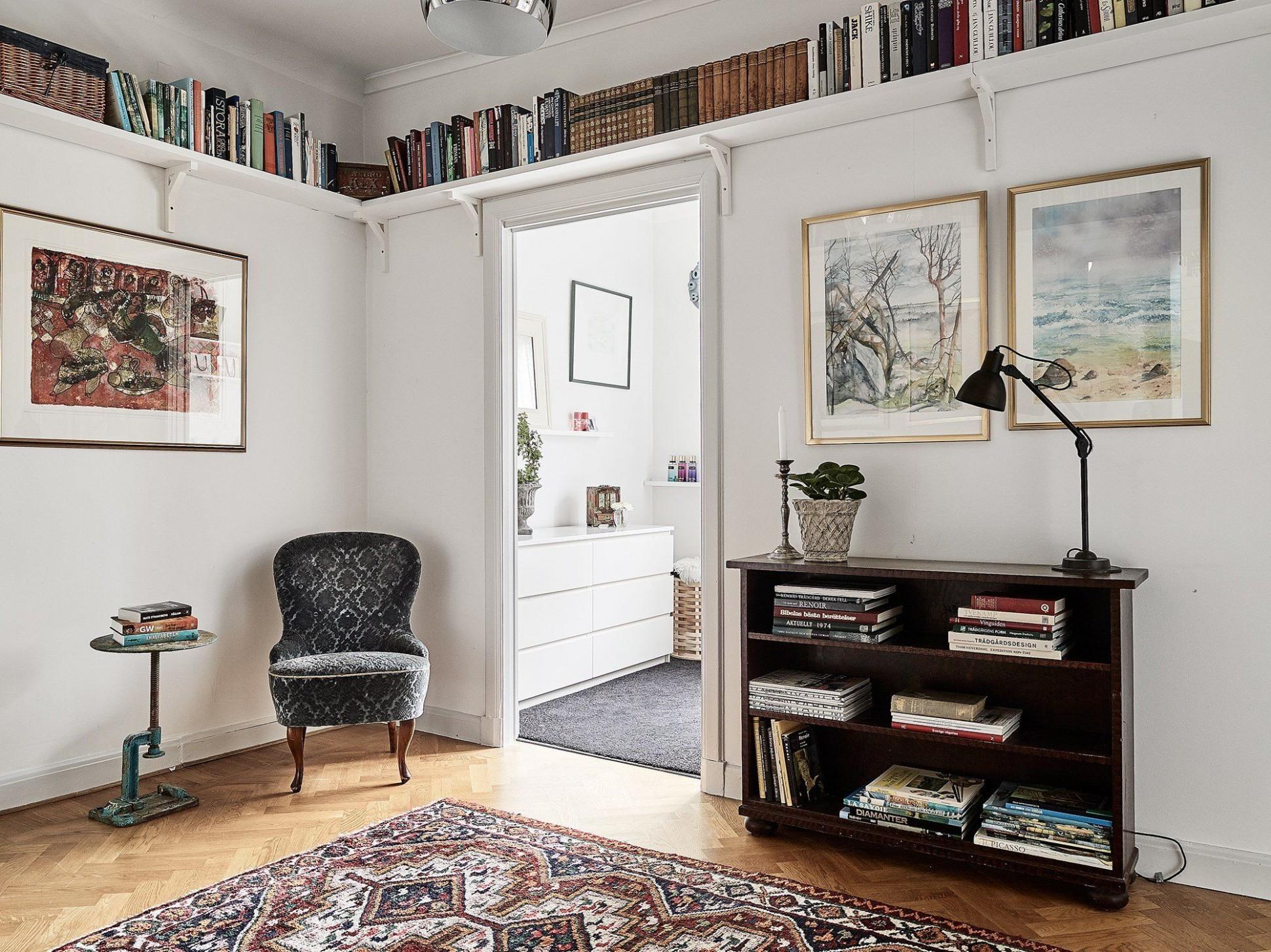 Skandinávský interiér v podkroví | I like living | Interiéry ...