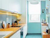 Příklad Idea Kvalitní z Omyvatelné Tapety za Kuchynskou Linku