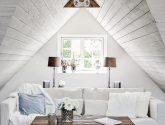 Sbírka (120+ Obrázky) Nápady Nejlepší Interiér podkroví