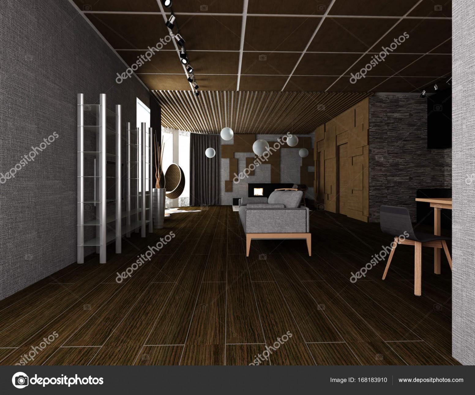 Útulný interiér bytu — Stock Fotografie © Lisunova #28