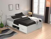255 Sbírka Idea Nejvíce Multifunkcní postel 90x200 MICHIGAN dub