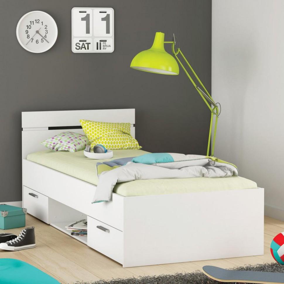 Multifunkcní postel 90x200 MICHIGAN dub