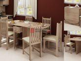 Galerie (240+ Fotka) Idea Jídelní Stul A Židle