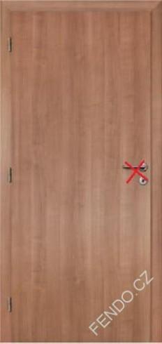 Interiérové dveře 70L Rum. Třešeň Plné | Stavební bazar FENDO