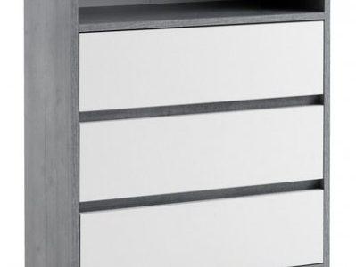 14 Fotky Idea Nejlepší z Komoda MAXIMO beton / bílá