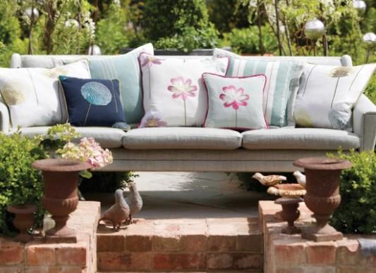 Zahradní lavice ve stylu venkovský decor | Styl a Interier