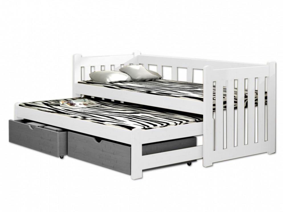 Kolekce Idea Nejlepší z Bílé Postel 90X200 S Úložným Prostorem