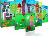 16 Fotky Inspirace Nejvice z Detske Obrazy na Zed