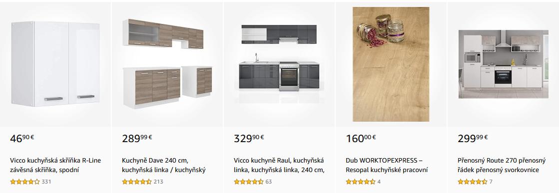 Skříňky pro kuchyňské linky s nejlepším hodnocením