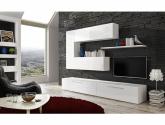 (66+ obrázek) Nejnovejší nápady z Obývací stěna bílá