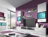 (85+ fotky) Kvalitní nápady z Obývací stěna bílá