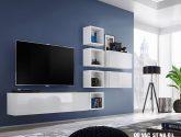 Nejchladnejší nápad z Obývací stěna bílá ideas (54 fotky)
