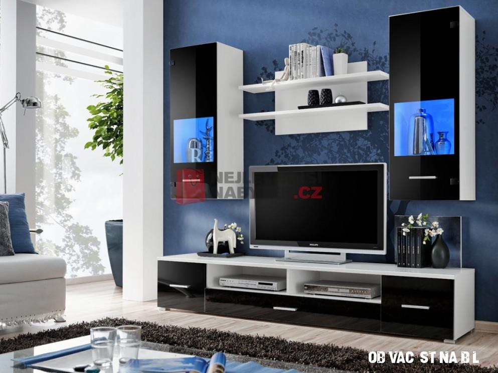 Obývací stěna bílá
