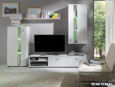 Nejvýhodnejší nápad Obývací stěna bílá idea (59+ obrázek)