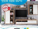 (62 obraz) Kvalitní nápad z Obývací stěny mobelix inspirace