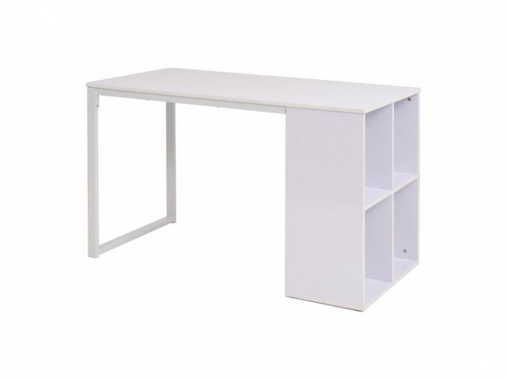 Bílý psací stůl