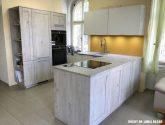 (16 obraz) Kvalitní nápad z Kuchyňská linka bazar inspirace
