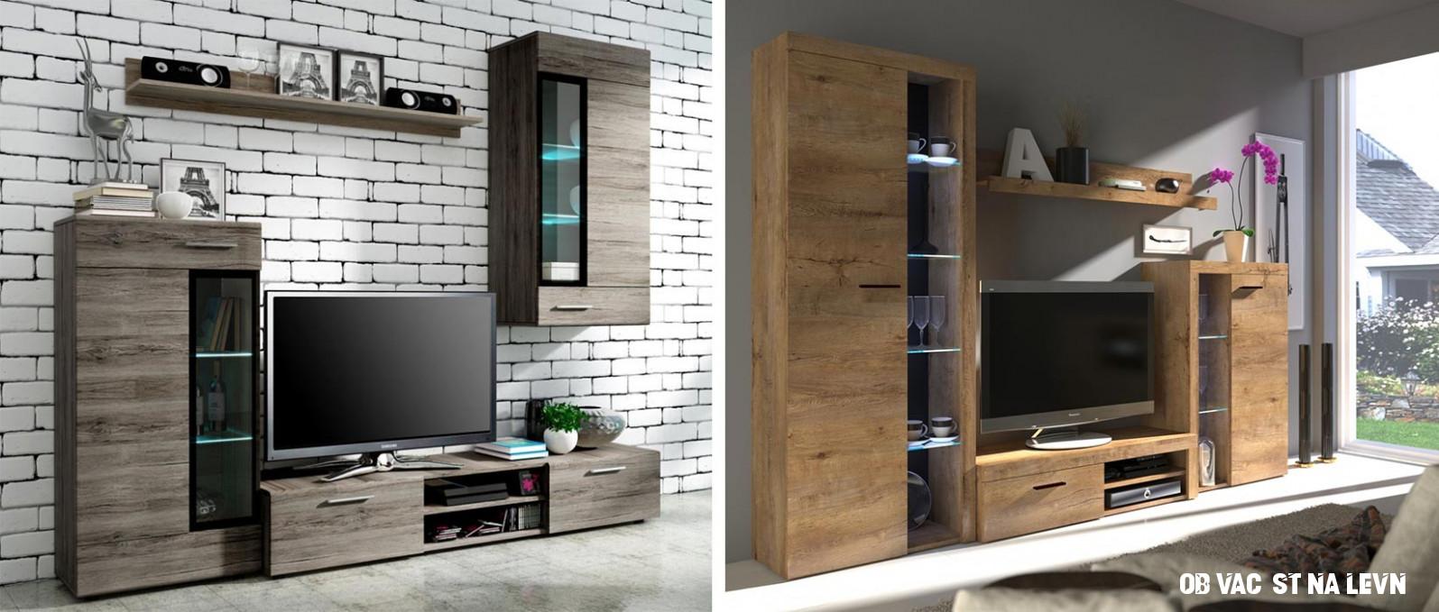 Obývací stěna levně