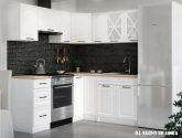 (86 fotka) Nejvýhodnejší nápady z Bílá kuchyňská linka