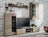 Nejlevnejší nápad Obývací stěna dub sonoma (67+ obrázek)
