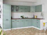 Nejlépe ideas pro Rohová kuchyňská linka (31 fotky)