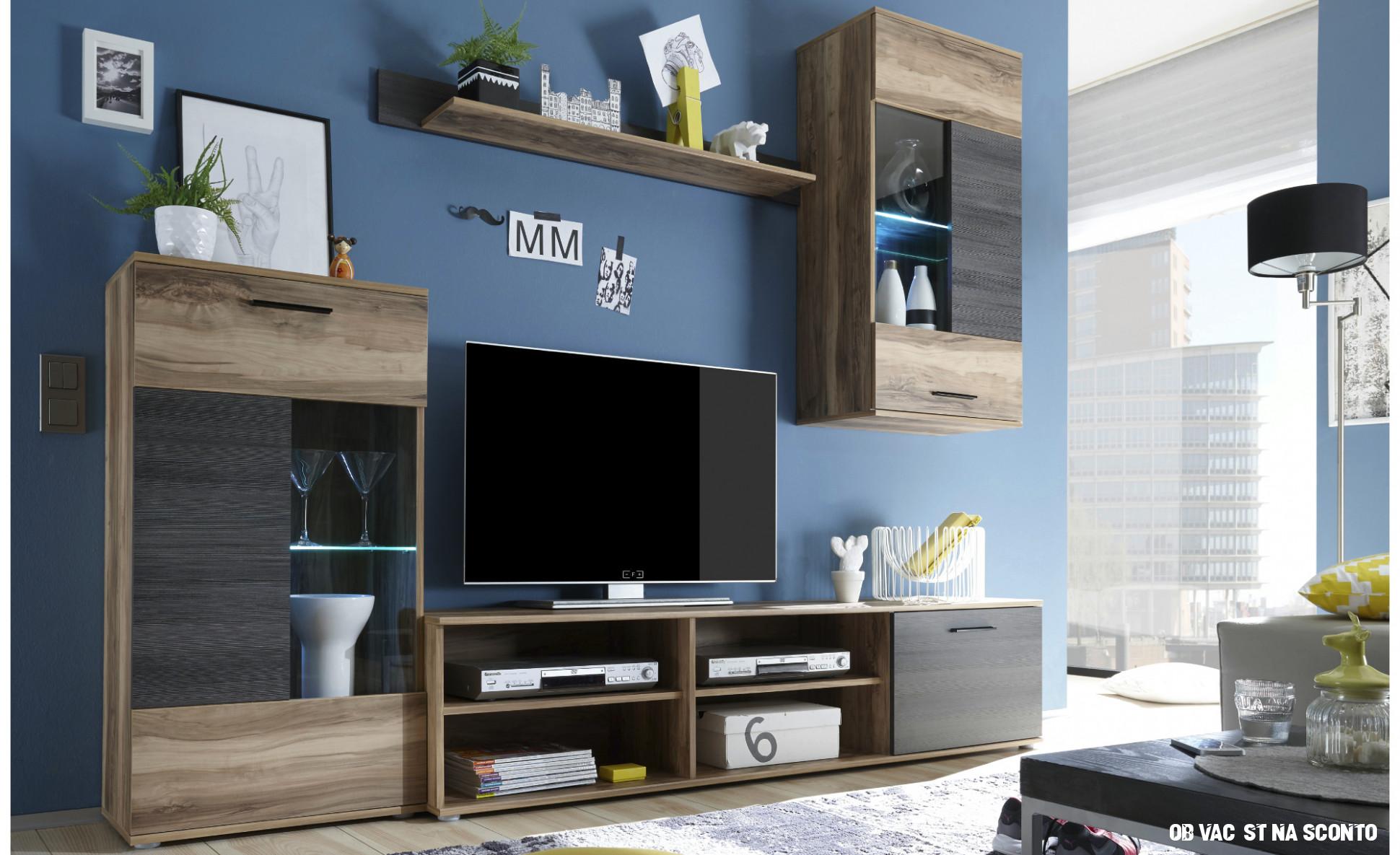 Nejlepší fotografie nápady Obývací stěna sconto idea